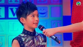 BoscoChan陳祉丞 TVB BigBig小明星2017⭐️  7號陳祉丞表演打鼓和功夫,夢想成為警察。