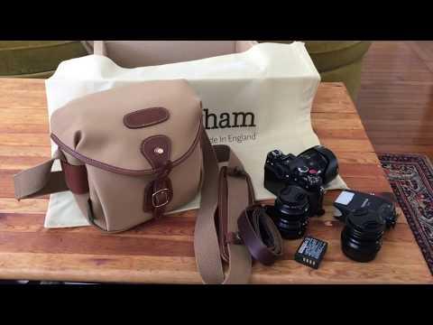Billingham Hadley Digital Camera Bag and Fuji X-T30 Kit