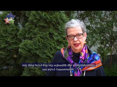 ԵՄ դեսպան Անդրեա Վիկտորինի տեսաուղերձը Եվրոպայի օրվա առթիվ