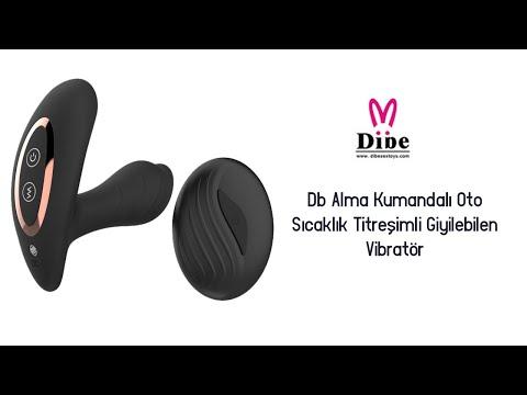 Db Alma Kumandalı Oto Sıcaklık Titreşimli Giyilebilen Vibratör