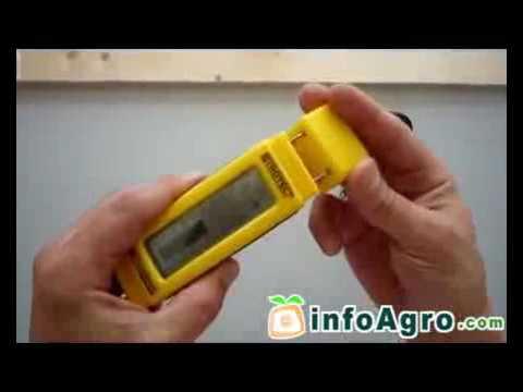 Medidor de humedad para Madera, Suelos y Paredes. BM15