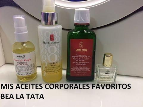 ACEITES CORPORALES FAVORITOS