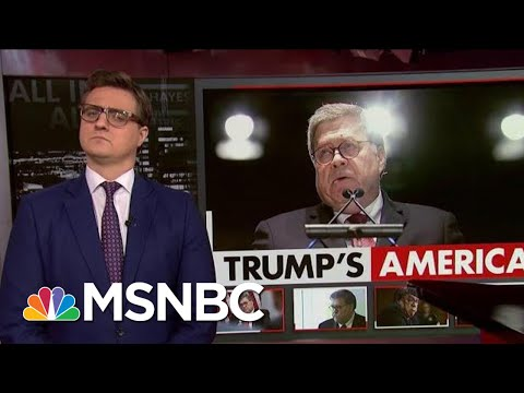 Chris Hayes On William Barr's 'Disgusting, Despicable View'   All In   MSNBC