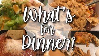 WHAT'S FOR DINNER WEDNESDAY! Easy family dinner ideas!