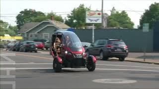 В США появился трехколесный электромобиль