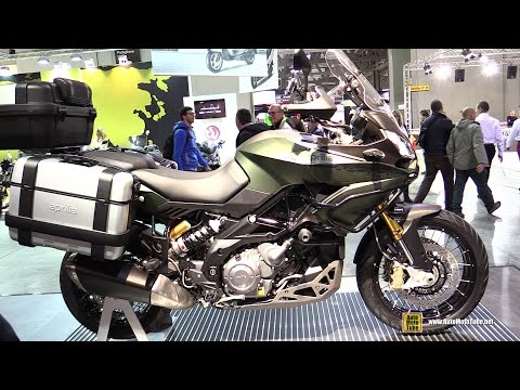 2014 Aprilia Caponord 1200 Rally - Walkaround - 2014 EICMA Milan Motorcycle Exhibition