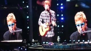 Ed Sheeran with Elton John - Don't Go Breaking My Heart @ Wembley Stadium 10/07/15