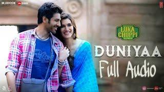 DUNIYA Full Audio   Luka Chuppi   Akhil & Dhvani Bhanushali  