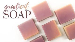 Gradient / Ombre Soap | Cold Process Soap Making