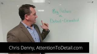 Are You a Big Picture or Detail-Oriented Person?
