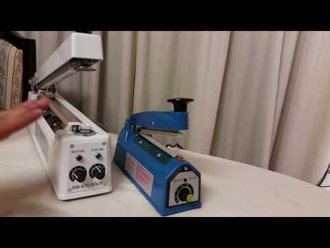 Selladora de Bolsas Magnética y Convencional