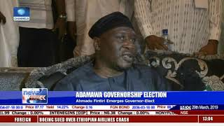 Adamawa Governor-Elect Ahmed Fintiri Reacts To Victory