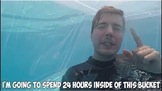MrBeast 24 Hours Under Water #shorts