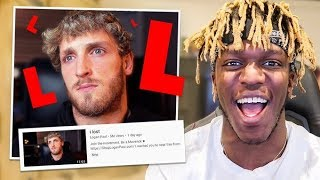 Logan Paul Is A Sore Loser