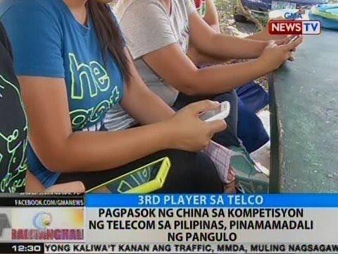 BT: Pagpasok ng China sa kompetisyon ng telecom sa Pilipinas, pinamamadali ng pangulo
