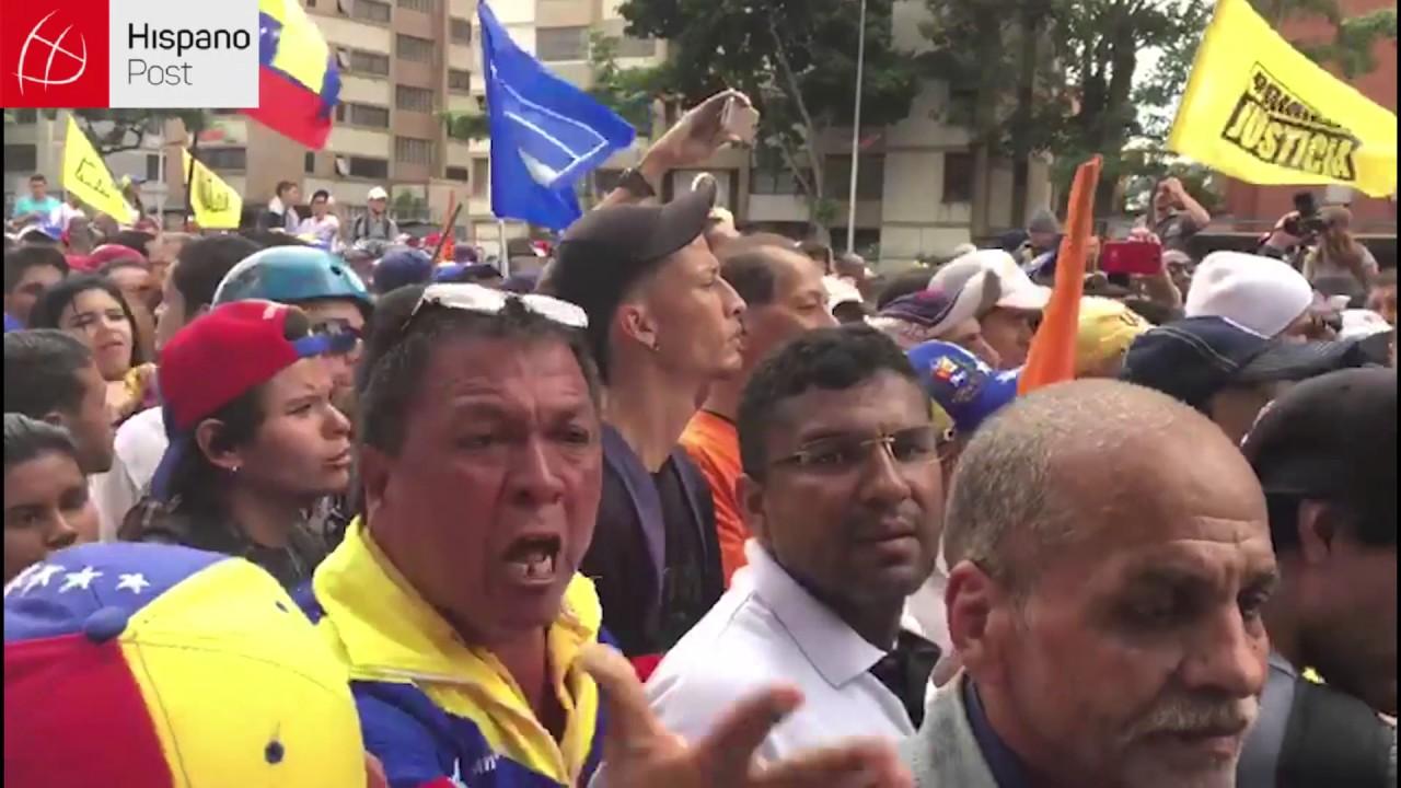 Caracas vivió una nueva jornada de marchas políticas