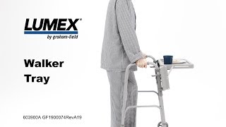 Lumex® Walker Tray Youtube Video Link