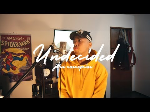 Chris Brown - Undecided (Cover By John Concepcion) #UndecidedChallenge
