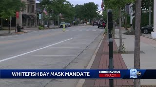 Whitefish Bay issues face mask mandate