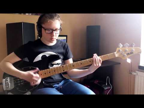 Red Hot Chili Peppers - Goodbye Angels (Bass Cover)