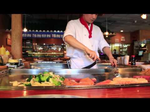 Hibachi chef live at nagoya