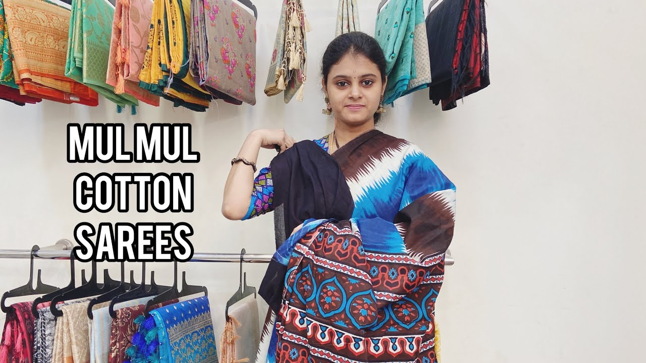"""<p style=""""color: red"""">Video : </p>Mul Mul Cotton Sarees Available In Haritha SareesMulmul or Muslin as it is known in Europe  is a soft and fine weave of cotton  that was first made by Bengali weavers many hundred years ago. ... High-quality ... 2021-01-01"""