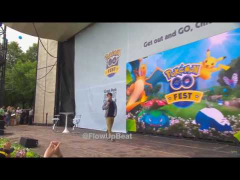 Niantic CEO Booed at Pokémon GO Fest 2017