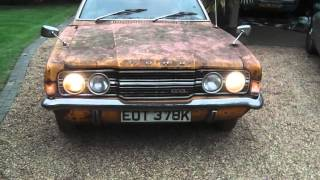 Mk3 Cortina 'PROJECT BRAMBLE ' first inspection