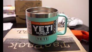 Yeti Rambler 14oz Coffee Mug/Camping Mug Review!
