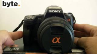 Camara Sony Alpha a33