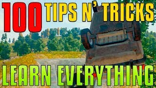 100 Tips and Tricks - Learn Everything   PUBG