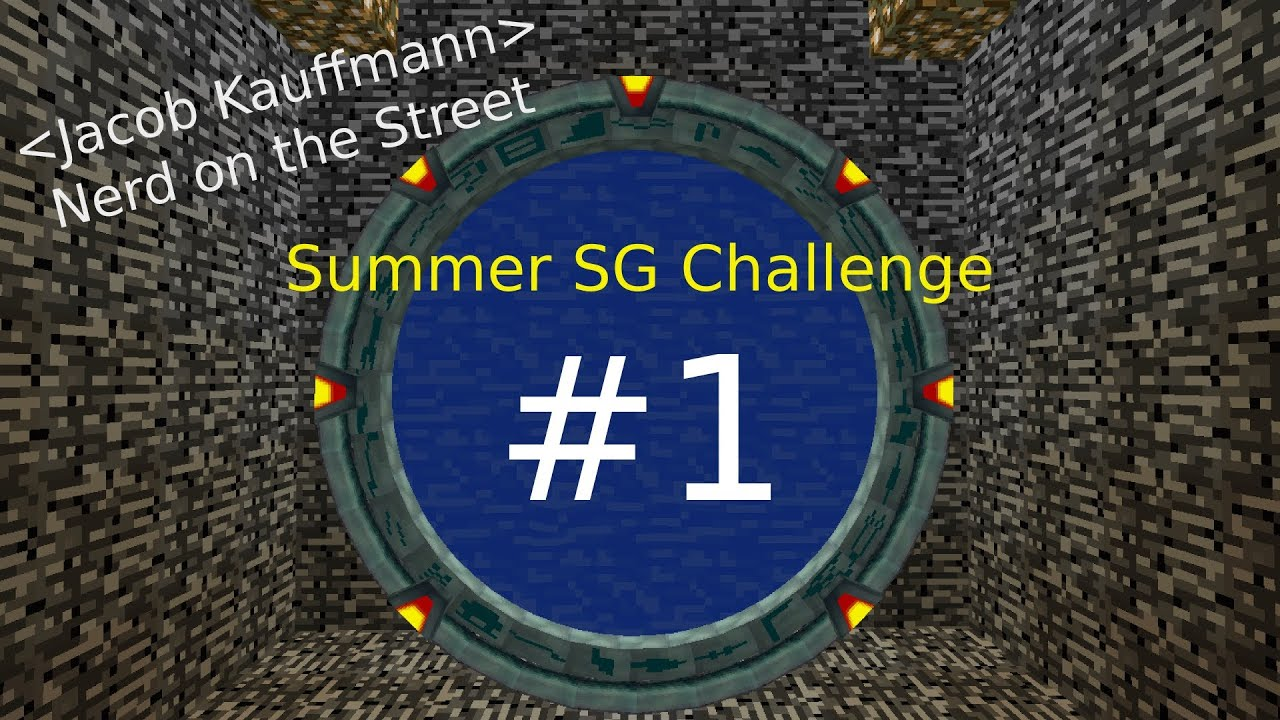 Summer SG Challenge: Episode 1