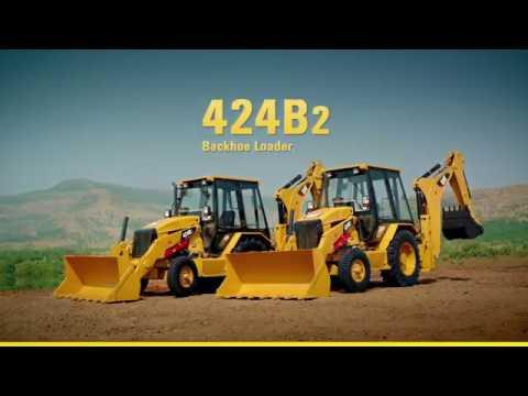 caterpillar-424b2-backhoe-loader-demo