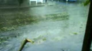 preview picture of video 'huracan Jimena en Santa Rosalia  (noticiero calle 5) 3'