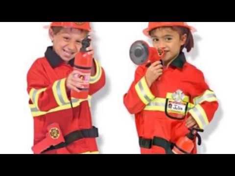 altezza 97 cm Bambini 3-4 anni Dress Up America 367 T Costume per travestimento da Pompiere vita 69 cm
