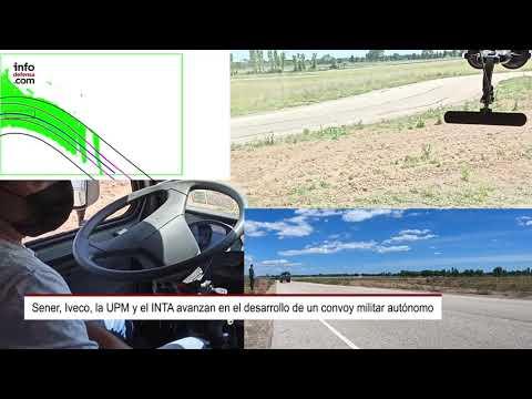 El convoy militar autónomo de Sener, Iveco, la UPM y el INTA avanza en su desarrollo