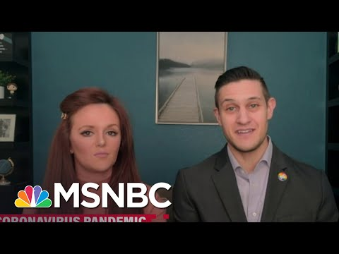 Furloughed Family Of Flight Attendants Talk Need For Financial Relief | Katy Tur | MSNBC