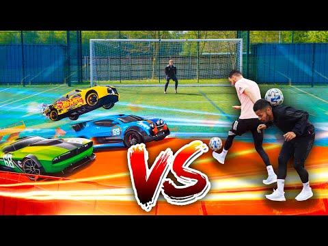 F2 VS HOT WHEELS – EPIC RACE! 🏎🔥⚽️ | Billy Wingrove & Jeremy Lynch
