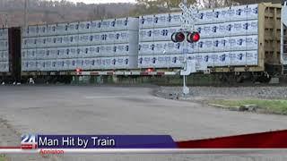 Anniston Man Hit by Train