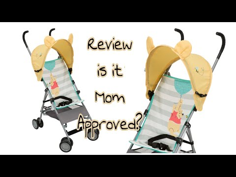 Baby Friday's | Disney Pooh Stroller Review