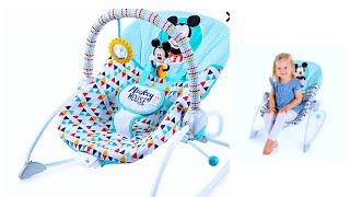 How to assemble infant-toddler || Mickey Mouse - Disney baby rocker || Product Review