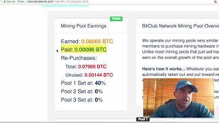 Dragon Mine Vs Bitclub Network Payouts 6 Days Comparison On $500 Contract