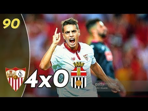 Sevilla vs Cartagena 4x0 ● Goals & Highlights
