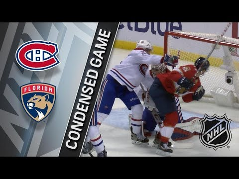 Montreal Canadiens vs Florida Panthers – Dec. 30, 2017   Game Highlights   NHL 2017/18. Обзор матча