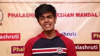 Phalashruti Student Rishi Shah