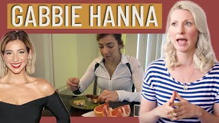 Dietitian Reviews Gabbie Hanna   What I Eat In A Day   How I Lost The Weight