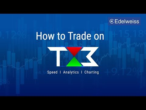 How to Trade on Edelweiss TX3?