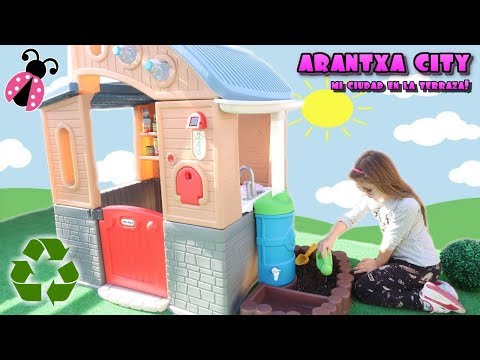 Mi casa ecológica en Arantxa City 🏡 Los juguetes de Arantxa