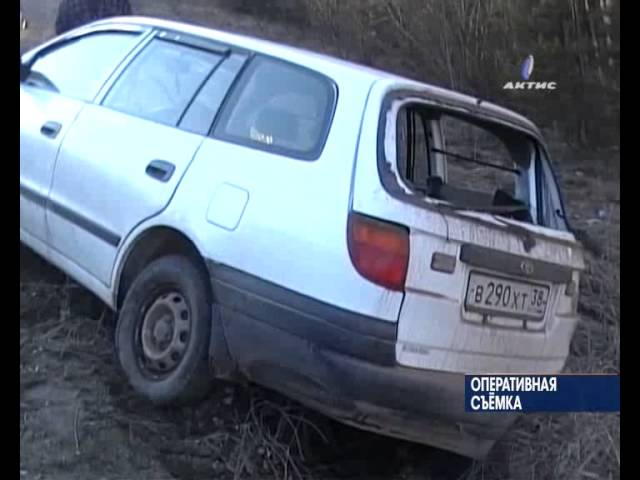 В аварии на Еловской горе пострадал водитель