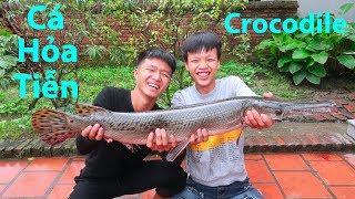 Hữu Bộ   Cá Sấu Hỏa Tiễn Nướng Siêu Cay   Grilled Crocodile